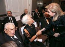 Η Μαριάννα Βαρδινογιάννη με τον Χένρι Κίσινγκερ και την Κριστίν Λαγκάρντ στα βραβεία του «AppealofConscience» Foundation (Φωτό) - Κυρίως Φωτογραφία - Gallery - Video