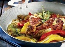 Αργυρώ Μπαρμπαρίγου: Χωριάτικο κοτόπουλο με μελωμένη σάλτσα πιπεριάς & μπύρας… λουκούμι!  - Κυρίως Φωτογραφία - Gallery - Video