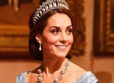 Κόκκινο χαλί στο Μπάκιγχαμ: Η Κέιτ Μίντλετον έβαλε την τιάρα της Πριγκίπισσας Νταϊάνα - Ελισάβετ και Καμίλα με λευκά σχεδόν σαν νύφες (Φωτό) - Κυρίως Φωτογραφία - Gallery - Video