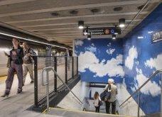 Νέα Υόρκη: Ένας ουρανός στο μετρό της πόλης κάτω από το σπίτι της Γιόκο Όνο - Κυρίως Φωτογραφία - Gallery - Video