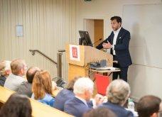 """Δρ. Βασίλης Γ. Αποστολόπουλος στο LSE: «Το Μέλλον της Υγείας Είναι Εδώ"""" - Κυρίως Φωτογραφία - Gallery - Video"""