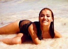 Vintage Story: Όταν η Γαλλίδα καλλονή Claudine Auger με την ελιά στο πρόσωπο έγινε κορίτσι του James Bond σε extreme sports - Κυρίως Φωτογραφία - Gallery - Video