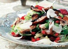 Φανταστική & πολύχρωμη ζεστή σαλάτα μανιταριών με εντυπωσιακή εμφάνιση & πλούσια γεύση από την Αργυρώ Μπαρμπαρίγου - Κυρίως Φωτογραφία - Gallery - Video