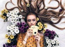 Καλλιτέχνιδα μας δείχνει τα πανέμορφα μαλλιά της: Στολισμένα με λουλούδια ή φύλλα - Φώτο  - Κυρίως Φωτογραφία - Gallery - Video 4