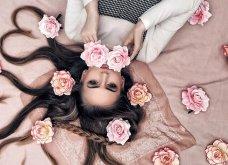 Καλλιτέχνιδα μας δείχνει τα πανέμορφα μαλλιά της: Στολισμένα με λουλούδια ή φύλλα - Φώτο  - Κυρίως Φωτογραφία - Gallery - Video 6
