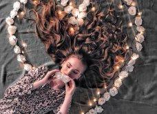 Καλλιτέχνιδα μας δείχνει τα πανέμορφα μαλλιά της: Στολισμένα με λουλούδια ή φύλλα - Φώτο  - Κυρίως Φωτογραφία - Gallery - Video 14