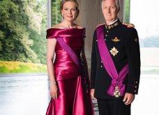 Νέα επίσημη grande φωτογράφιση του Βασιλιά του Βελγίου, Φίλιππου και της Βασίλισσας Ματίλντ - Η φούξια τουαλέτα  - Κυρίως Φωτογραφία - Gallery - Video