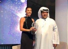 Η Μαρίνα Βερνίκου βραβεύτηκε από τον Σεΐχη του Ντουμπάι σε μια χίλιες & μια νύχτες βραδιά ως Βest global artist award (φωτό) - Κυρίως Φωτογραφία - Gallery - Video