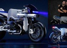 """Μade in Greece η μοτοσικλέτα των Μάριου & Ντίνου Νικολαϊδη: Εντυπωσίασε το DCR-018 """"The Billet Sting"""" σε έκθεση του Μιλάνου - Κυρίως Φωτογραφία - Gallery - Video"""