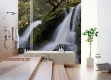 Φαντασμαγορικά μπάνια με… τοιχογραφίες: Ένα χιονισμένο βουνό ή τον απέραντο ωκεανό; Φώτο   - Κυρίως Φωτογραφία - Gallery - Video