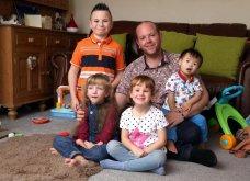 Γνωρίστε τον καλύτερο πατέρα του κόσμου: Έχει υιοθετήσει 5 παιδιά με ειδικές ανάγκες (Φωτό) - Κυρίως Φωτογραφία - Gallery - Video