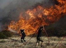 Μεγάλη πυρκαγιά στη Λεμεσό - Μάχη με τις φλόγες από στεριάς και αέρος - Έκλεισαν οι δρόμοι - Κυρίως Φωτογραφία - Gallery - Video