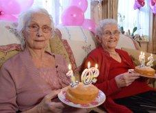 Βρετανία: Γλυκούλες αξιολάτρευτες δίδυμες «έσβησαν» 102 κεράκια και το γιορτάζουν (βίντεο) - Κυρίως Φωτογραφία - Gallery - Video