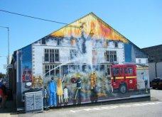 Γκράφιτι μεταμορφώνουν πόλη της Σκωτίας σε… έκθεση ζωγραφικής! Φώτο  - Κυρίως Φωτογραφία - Gallery - Video 3