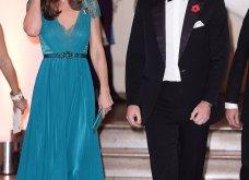 Η Πριγκίπισσα Kate σε εντυπωσιακή εμφάνιση με την ίδια πετρόλ τουαλέτα Jenny Packham που έβαλε και πριν από 6 χρόνια (Φωτό & Βίντεο) - Κυρίως Φωτογραφία - Gallery - Video