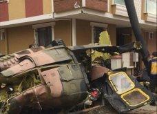 Τουρκία: Στρατιωτικό ελικόπτερο συνετρίβη σε κατοικημένη περιοχή της Κωνσταντινούπολης - Τέσσερις νεκροί (Φωτό & Βίντεο) - Κυρίως Φωτογραφία - Gallery - Video