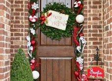 40 προτάσεις Χριστουγεννιάτικης διακόσμησης για το κατώφλι του σπιτιού σας! Φώτο   - Κυρίως Φωτογραφία - Gallery - Video 14