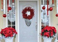 40 προτάσεις Χριστουγεννιάτικης διακόσμησης για το κατώφλι του σπιτιού σας! Φώτο   - Κυρίως Φωτογραφία - Gallery - Video 16