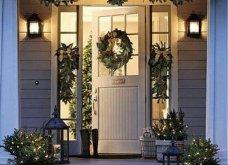 40 προτάσεις Χριστουγεννιάτικης διακόσμησης για το κατώφλι του σπιτιού σας! Φώτο   - Κυρίως Φωτογραφία - Gallery - Video 20