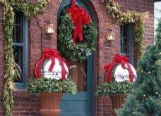 40 προτάσεις Χριστουγεννιάτικης διακόσμησης για το κατώφλι του σπιτιού σας! Φώτο   - Κυρίως Φωτογραφία - Gallery - Video