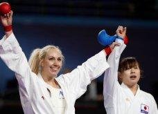 Θρίαμβος στη Μαδρίτη : Παγκόσμια πρωταθλήτρια στο καράτε η Ελένη Χατζηλιάδου - Κυρίως Φωτογραφία - Gallery - Video