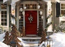 Χριστούγεννα! Υπέροχες ιδέες για να διακοσμήσετε την εξώπορτα σας - Κυρίως Φωτογραφία - Gallery - Video