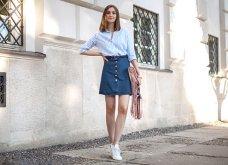 30 απίθανες ιδέες για εντυπωσιακά σύνολα με τζιν φούστα - Πως μπορείς να την συνδυάσεις; Φώτο  - Κυρίως Φωτογραφία - Gallery - Video