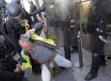 """Άλλο ένα """"μαύρο Σάββατο"""" στη Γαλλία: Το Παρίσι καίγεται - Συλλήψεις δακρυγόνα οδομαχίες (φωτό -βίντεο) - Κυρίως Φωτογραφία - Gallery - Video"""