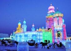 Κίνα: Άνοιξε για 20ή συνεχόμενη χρονιά το πάρκο πάγου και χιονιού στο Χαρμπίν - Κυρίως Φωτογραφία - Gallery - Video