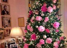 Χριστούγεννα: Κάποιοι στόλισαν με λουλούδια το δένδρο τους αντί για μπάλες – Σας αρέσει; - Κυρίως Φωτογραφία - Gallery - Video