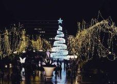 Σε γιορτινή διάθεση η Αθήνα - Άναψε το χριστουγεννιάτικο δέντρο στην πλατεία Συντάγματος - Κυρίως Φωτογραφία - Gallery - Video