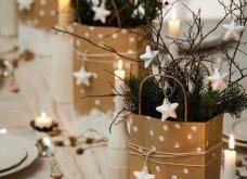 10 εκπληκτικές ιδέες για τη χριστουγεννιάτικη διακόσμηση του τραπεζιού: Να πώς θα «κλέψετε» τις εντυπώσεις (Φωτό) - Κυρίως Φωτογραφία - Gallery - Video 3
