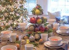10 εκπληκτικές ιδέες για τη χριστουγεννιάτικη διακόσμηση του τραπεζιού: Να πώς θα «κλέψετε» τις εντυπώσεις (Φωτό) - Κυρίως Φωτογραφία - Gallery - Video 4