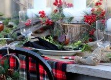 10 εκπληκτικές ιδέες για τη χριστουγεννιάτικη διακόσμηση του τραπεζιού: Να πώς θα «κλέψετε» τις εντυπώσεις (Φωτό) - Κυρίως Φωτογραφία - Gallery - Video 5