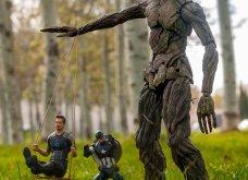 Απίθανα σκηνικά με μινιατούρες από χαρακτήρες ηρώων της Marvel: Από τον Captain America, μέχρι τον Iron Man    - Κυρίως Φωτογραφία - Gallery - Video 2