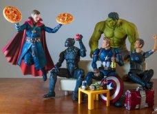 Απίθανα σκηνικά με μινιατούρες από χαρακτήρες ηρώων της Marvel: Από τον Captain America, μέχρι τον Iron Man    - Κυρίως Φωτογραφία - Gallery - Video 4