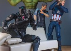 Απίθανα σκηνικά με μινιατούρες από χαρακτήρες ηρώων της Marvel: Από τον Captain America, μέχρι τον Iron Man    - Κυρίως Φωτογραφία - Gallery - Video 5