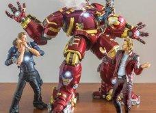 Απίθανα σκηνικά με μινιατούρες από χαρακτήρες ηρώων της Marvel: Από τον Captain America, μέχρι τον Iron Man    - Κυρίως Φωτογραφία - Gallery - Video 7