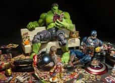 Απίθανα σκηνικά με μινιατούρες από χαρακτήρες ηρώων της Marvel: Από τον Captain America, μέχρι τον Iron Man    - Κυρίως Φωτογραφία - Gallery - Video 8
