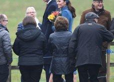 Βασίλισσα του στυλ! Υπέροχη η Κέιτ Μίντλετον με total blue outfit στην εκκλησία σήμερα (φώτο)  - Κυρίως Φωτογραφία - Gallery - Video 14