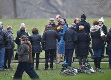 Βασίλισσα του στυλ! Υπέροχη η Κέιτ Μίντλετον με total blue outfit στην εκκλησία σήμερα (φώτο)  - Κυρίως Φωτογραφία - Gallery - Video 16
