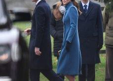 Βασίλισσα του στυλ! Υπέροχη η Κέιτ Μίντλετον με total blue outfit στην εκκλησία σήμερα (φώτο)  - Κυρίως Φωτογραφία - Gallery - Video 18