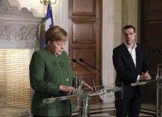 Καρέ-καρέ η συνάντηση του Αλέξη Τσίπρα με την Άνγκελα Μέρκελ στο Μέγαρο Μαξίμου (Φωτό) - Κυρίως Φωτογραφία - Gallery - Video 8
