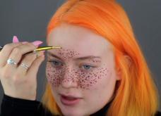 Το πιο fail βίντεο: Πασίγνωστη Youtuber πήγε να κάνει ψεύτικες φακίδες στο πρόσωπο της και τελικά δεν έβγαιναν! - Κυρίως Φωτογραφία - Gallery - Video