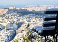10 εκπληκτικές φωτογραφίες της χιονισμένης Αθήνας: Η Βουλή, ο «Δρομέας» και η Ακαδημία στα λευκά (Φωτό) - Κυρίως Φωτογραφία - Gallery - Video 3