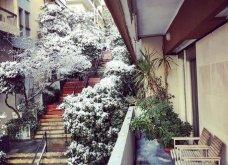 10 εκπληκτικές φωτογραφίες της χιονισμένης Αθήνας: Η Βουλή, ο «Δρομέας» και η Ακαδημία στα λευκά (Φωτό) - Κυρίως Φωτογραφία - Gallery - Video 5