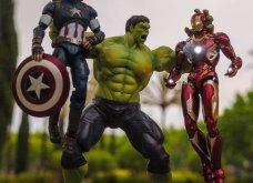 Απίθανα σκηνικά με μινιατούρες από χαρακτήρες ηρώων της Marvel: Από τον Captain America, μέχρι τον Iron Man    - Κυρίως Φωτογραφία - Gallery - Video 13