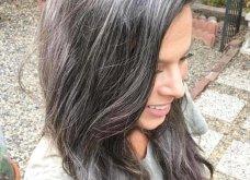 50 υπέροχες γυναίκες που λατρεύουν τα γκρίζα τους μαλλιά & μας τα παρουσιάζουν - Φώτο    - Κυρίως Φωτογραφία - Gallery - Video 15