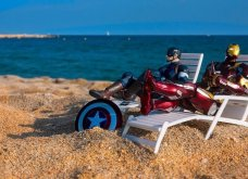 Απίθανα σκηνικά με μινιατούρες από χαρακτήρες ηρώων της Marvel: Από τον Captain America, μέχρι τον Iron Man    - Κυρίως Φωτογραφία - Gallery - Video 16