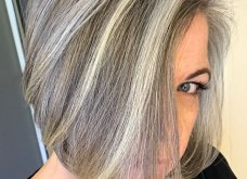50 υπέροχες γυναίκες που λατρεύουν τα γκρίζα τους μαλλιά & μας τα παρουσιάζουν - Φώτο    - Κυρίως Φωτογραφία - Gallery - Video 16